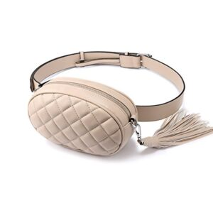 Nude Oval Belt Bag