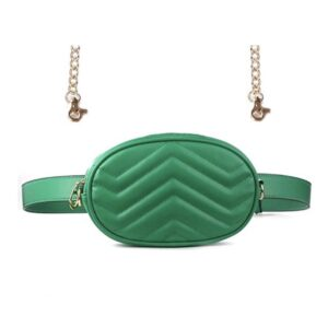 Green Convertible Belt Bag